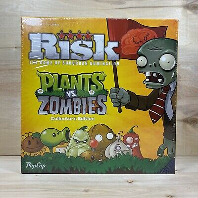 $39.89 • Buy RISK PLANTS Vs ZOMBIES Board Game Collectors Edition FACTORY SEALED DISCONTINUED