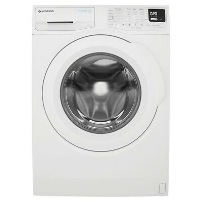 AU499 • Buy SYDNEY ONLY | Simpson Ezi Set 7kg Front Load Washing Machine - SWF7025EQWA