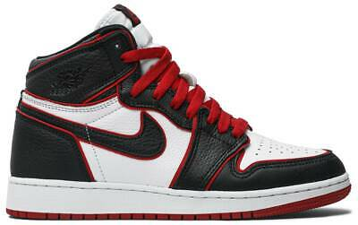 $200 • Buy Nike Air Jordan 1 Retro High OG BG 'Bloodline' 575441-062 GS KIDS NEW AUTHENTIC