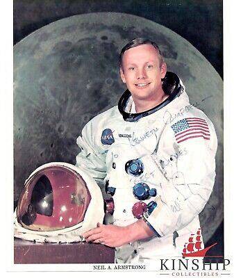$1299 • Buy Neil Armstrong Signed 8x10 Color Nasa Photo JSA LOA Space D.2012 Inscribed B633