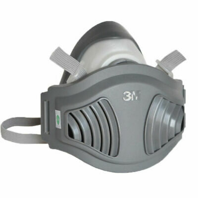 AU36.99 • Buy 3M 1701 Filter 1211 Half Face Rubber Respirator Mask Anti-Dust PM2.5 Industrial