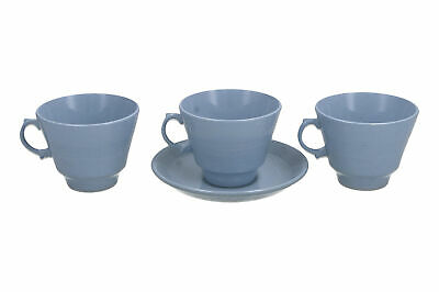 Woods Ware Iris Cup & Saucer + 2 Cups Vintage English Pottery • 17.95£