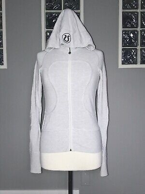 $ CDN78 • Buy Lululemon Remix Hoodie Lux 4 Heathered Light Beechlu Jacket Euc Rare