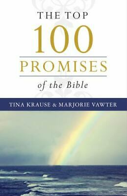 $ CDN5.47 • Buy Top 100 Promises Of The Bible By Marjorie Vawter; Tina Krause