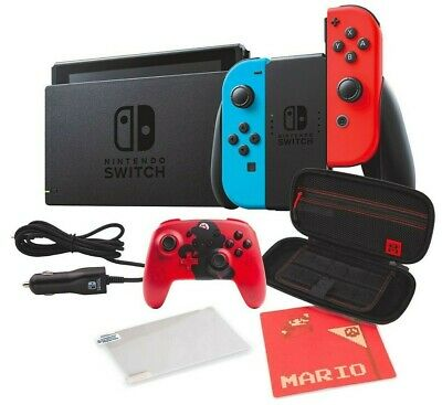 $549.99 • Buy NEW Nintendo Switch Bundle + Controller + Car Charger + Case + FREE ACCESSORIES!