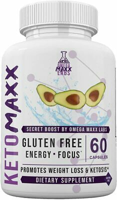 $28.95 • Buy Keto Maxx-secret Boost By Omega Maxx Labs 1 Month 60 Capsules **fast Shipping**