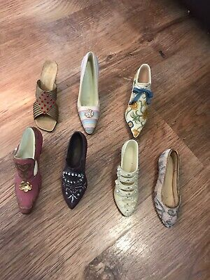 Just The Right Shoe Ornament Bundle Joblot • 5£