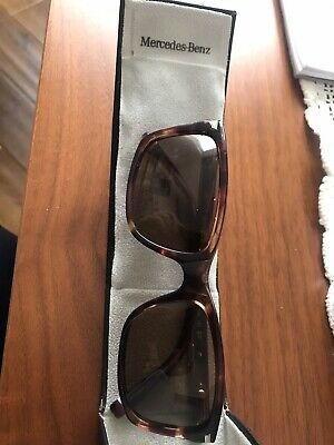 Original Mercedes Benz Sunglasses Men's Historical Star Brown Made In Italy • 115£