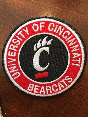 $6.79 • Buy University Of Cincinnati Bearcats Vintage Embroidered Iron On Patch 3