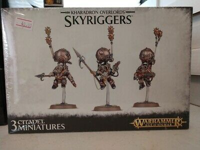 AU44.12 • Buy Warhammer AOS Kharadron Overlords Skyriggers New Sealed