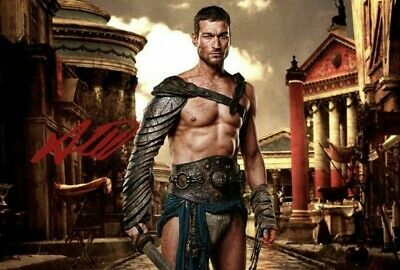 ANDY WHITFIELD SPARTACUS WAR OF THE DAMNED Signed Autograph PRINT 6x4  GIFT • 1.99£