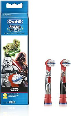 AU12.50 • Buy Oral-B Stages Star Wars Replacement Electric Toothbrush Heads Refill, 2 Pack...