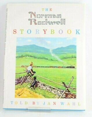 $ CDN202.08 • Buy Signed First Edition Jan Wahl Illustrated Norman Rockwell Story Book Fine Cond.