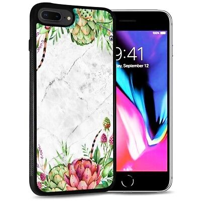 AU9.99 • Buy ( For IPhone 6 Plus / 6S Plus ) Back Case Cover PB12591 Tropical Marble