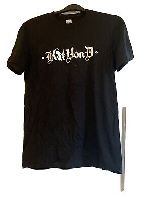 Kat Von D T Shirt Size Medium. Black Only Worn Once And Washed. • 4£