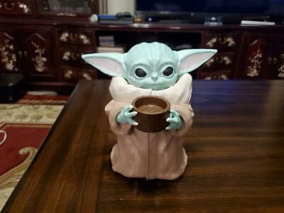 $55 • Buy Baby Yoda Holding Cup 7  Tall