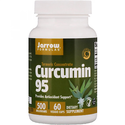Jarrow Formulas Curcumin 95 500 Mg Antioxidant Support 60/120 Veggie Caps • 27.16£