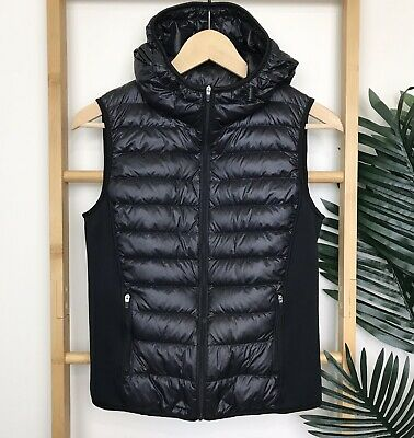 AU35 • Buy Uniqlo Ultra Light Down Hooded Vest Sleeveless Jacket Size XS Puffer Quilted