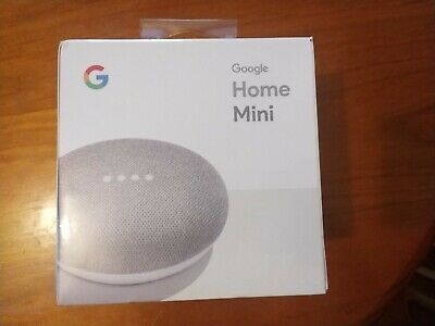AU46 • Buy Google Home Mini Smart Assistant - Chalk - Brand New In Sealed Box-Free Shipping