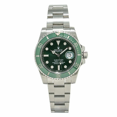 $ CDN19964.62 • Buy Rolex Submariner Hulk 11661OLV Papers Men's Automatic Stainless HULK 40mm