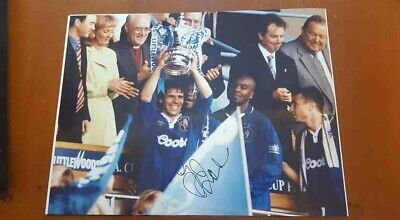 Gianfranco Zola Chelsea Fa Cup Autographed Signed Photo  16x12  • 60£