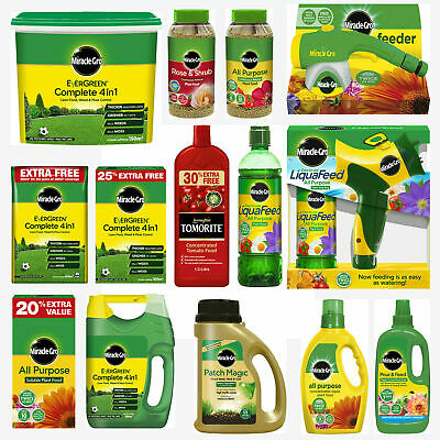 Miracle Gro All Purpose Plant Food Lawn Grass Compost Seed Full Range • 18.95£