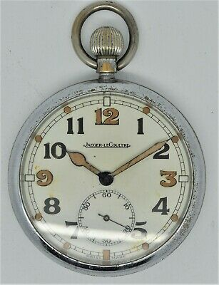 Vintage Jaeger-LeCoultre World War II British Military Pocket Watch  • 450£