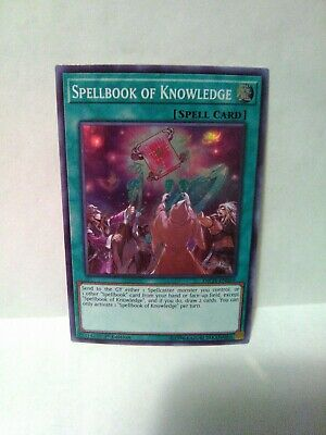 AU10.72 • Buy Yu-Gi-Oh Spellbook Of Knowledge Holo Rare Ist Ed Inch-en059
