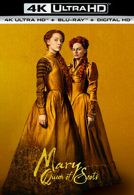 $16.09 • Buy Mary Queen Of Scots UHD 2018
