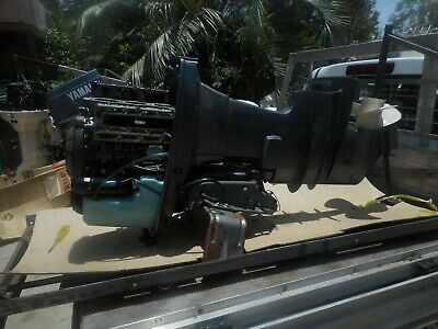 AU1 • Buy Yamaha Outboard 90 Hp 2 Stroke , Xl Shaft Wrecking All Parts From $1.00