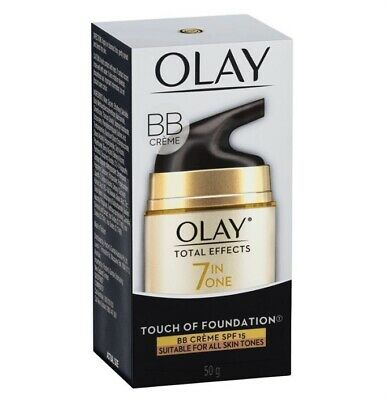 AU25 • Buy Olay Total Effects 7 In One Touch Of Foundation Face Cream BB Crème SPF 15 50g