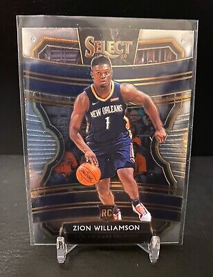 $49.99 • Buy 2019-20 Panini Select Pelicans Zion Williamson Base Concourse Rookie RC #1