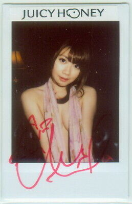 $ CDN7.05 • Buy Chinami Ito 2017 Juicy Honey 39 Cheki Autograph 1/1 Instant Photo ART Auto 0136