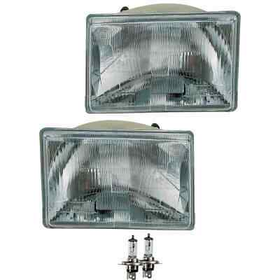 AU247.74 • Buy Headlight Set Right And Left H4 For Jeep Grand Cherokee I Zj Zg Incl. Bulbs