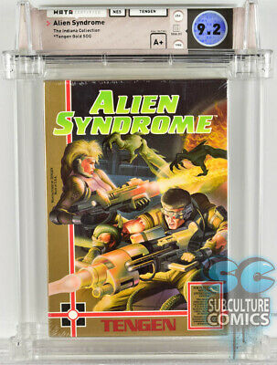 £2123.96 • Buy Nes - Alien Syndrome - Factory Sealed - 9.2 A+ Indiana Collection - Tengen 1988