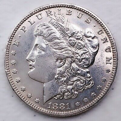 $29.81 • Buy 1881 Unc Gem Ms+++ Morgan Silver Dollar 90% Silver $1 Coin Us #dd116