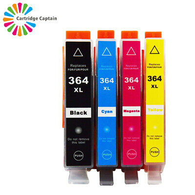 £5.97 • Buy 4 Ink Cartridges Compatible With Hp 364 Photosmart 5510 5520 6510 C6380 Printer