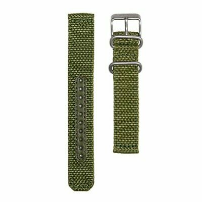 $ CDN93.98 • Buy SEIKO SEIKO5 4K11JZ Genuine Military Mesh Nylon Belt Green 18mm 123mm / 98mm New