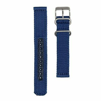 $ CDN93.98 • Buy SEIKO SEIKO5 4K12JZ Genuine Military Mesh Nylon Belt Navy 18mm 123mm / 98mm New