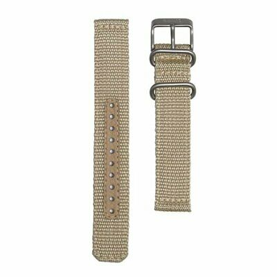 $ CDN93.98 • Buy SEIKO SEIKO5 4K10JZ Genuine Military Mesh Nylon Belt Beige 18mm 123mm / 98mm New