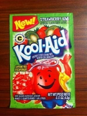 20 Packs Kool Aid STRAWBERRY KIWI Flavor Drink Mix Packet Gluten Free FREE SHIP • 9.29£