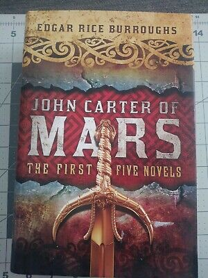 $7.10 • Buy John Carter A Princess Of Mars Series Omnibus Collection HARDCOVER  By Edgar ...