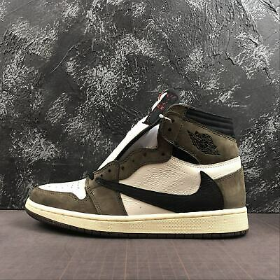 $568 • Buy Free Shipping Air JORDAN1 High OG TS SP  TRAVIS SCOTT  CD4487100 Men US Size 9.5