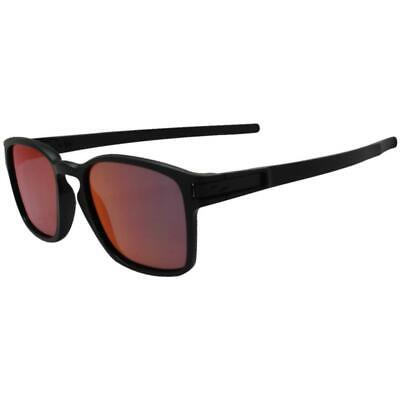 AU159.99 • Buy Oakley OO 9353-03 Latch SQ Matte Black W/ Torch Iridium Lens Mens Sunglasses .