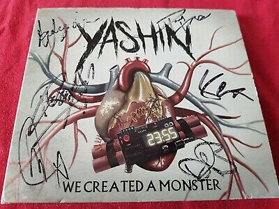 Yashin We Created A Monster- Autographed Signed Cd • 7.60£