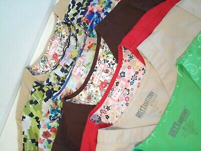 $35 • Buy Lot Of 7 Koi & Grey's Anatomy By Barco Women's Scrubs Size XL Nurse Medical Top