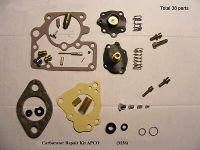 $40 • Buy Carter Carb NEW Repair Kit For Willys M38 Jeep. Quality Parts By NAPCO.Great Kit