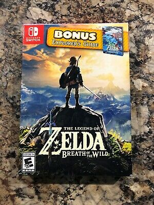 $65 • Buy The Legend Of Zelda: Breath Of The Wild (Nintendo Switch) With Explorer's Guide