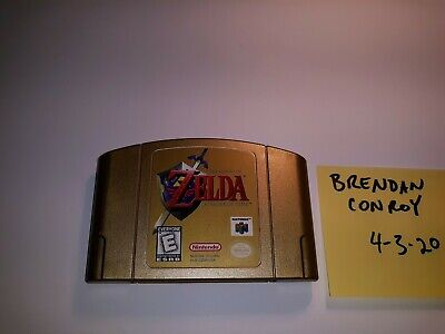 $22.50 • Buy Legend Of Zelda: Ocarina Of Time N64 Gold Cartridge CLEANED TESTED Cart Only