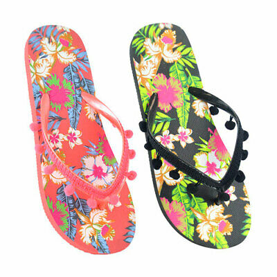 £3.95 • Buy Ladies Flip Flops - Sizes 3/4, 5/6, 7/8 - Brand New With Tags